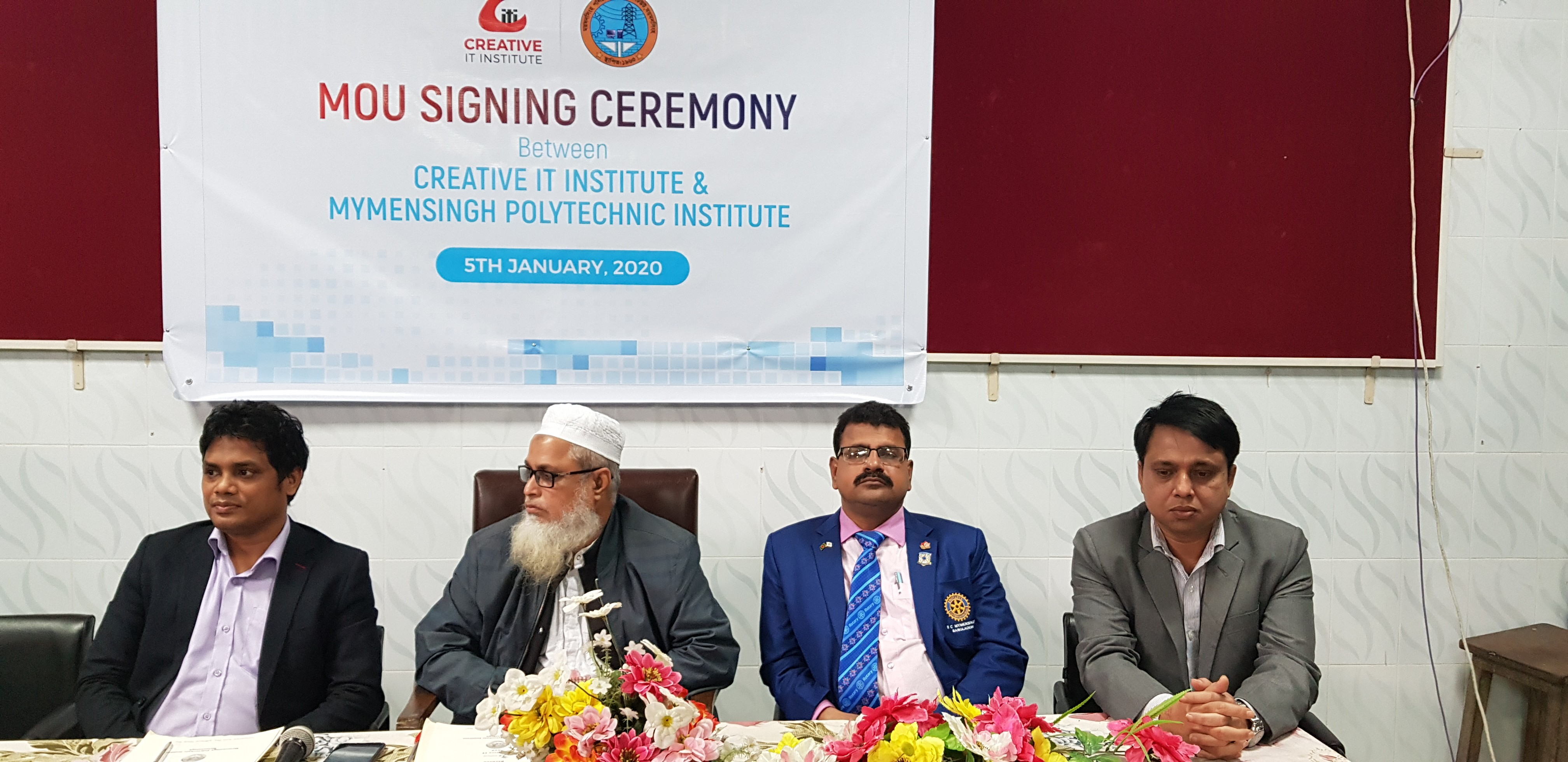 MoU Signing ceremony between Creative IT &Mymensingh Polytechnic Institute 19